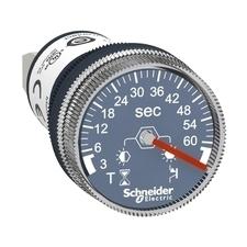 SCHN XB5DTB23 Časovač, montáž na panel, zpožděné sepnutí, 3 s až 60 s, 24 V DC RP 0,03kč/ks