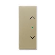 """ABB 6220E-A02002 33 free@home Kryt 2násobný levý/pravý, symbol """"žaluzie"""""""