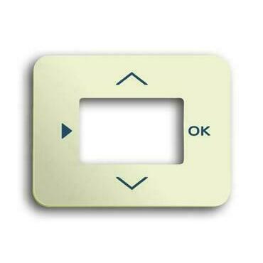 ABB 2CKA006430A0293 Alpha Kryt termostatu se spínacími hodinami, časovače nebo ovladače Busch-Timer,