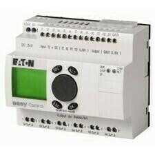EATON 106405 EC4P-222-MRAD1 Řídicí relé easyControl, provedení s displejem, 12 DI (4 AI), 6 RO, 1 AO