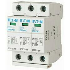 EATON 158330 SPBT12-280/3 Svodič přepětí třídy T1+T2 (B+C), 3pól sada pro TN-C