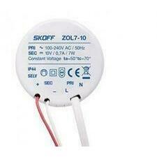 SKOFF Trafo typ ZOL 7  100 - 240 V AC    10V DC  50HZ  0,