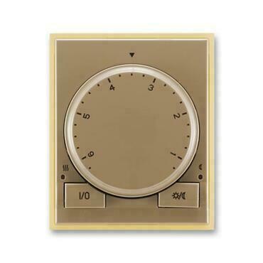 ABB 3292E-A10101 25 Element Termostat univerzální s otočným nastavením teploty (ovl. jednotka)
