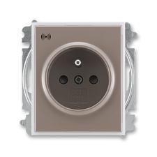 ABB 5589E-A02357 26 Time Zásuvka s přepěťovou ochranou, s akustickou signalizací poruchy