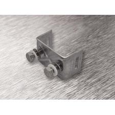 wpr2115 PTA-U2-N8-SS nerez. příchytka U2 pro pásy do š. 19,5 mm, pro 2 šrouby + 2 ks nerez šroub + 2