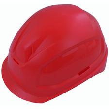 Elektrikářská ochranná helma červená vel 52 - 61 cm