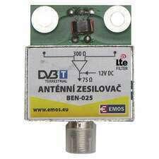 EMOS J5802 PŘEDZESIL.ANTENNÍ 25dB VHF/UHF