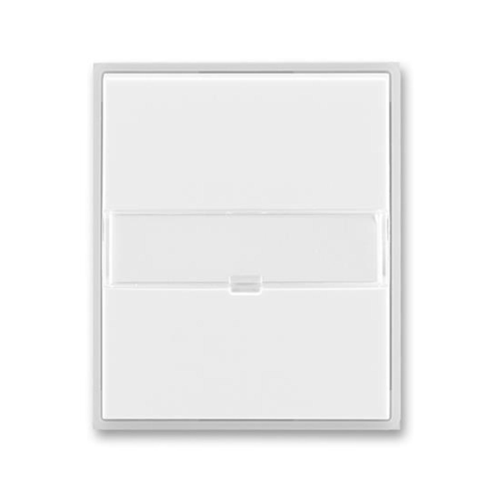 ABB 3558E-A00610 01 Element Kryt spínače jednoduchý, s popisovým polem, s čirým průzorem