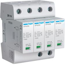 HAG SPN901 Kombinovaný svodič přepětí T1+T2, Iimp 12,5 kA (10/