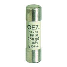 OEZ:06707 Pojistková vložka PV10 25A gG RP 5,21kč/ks