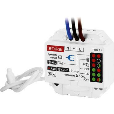 ABB 3299-11508 Modul přijímače RF signálu, spínací, vestavný, 868 MHz Bezdrátové ovládání