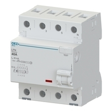 OEZ:42418 Proudový chránič LFN-25-4-030AC RP 0,35kč/ks