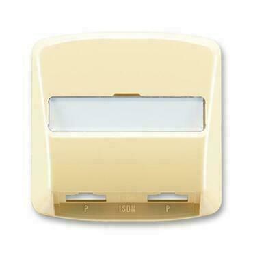 ABB 5013A-A00252 D Tango Kryt zásuvky ISDN průchozí, dvojnásobné
