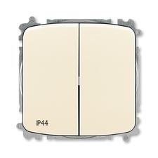 ABB 3559A-A05940 C  Přepínač sériový, s krytem, řazení 5, IP44, bezšroubové svorky 25-IPxx Přepínač