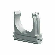 HLS HL CF25 Příchytka trubek, samozhášivá, bezhalogenová, vnější průměr 25mm, šedá