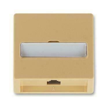 ABB 5013C-A00213 D2 Classic Kryt zásuvky telefonní, jednonásobné (pro přístroj 5013U)