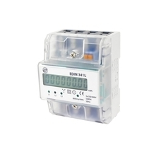 EL 1008830 Elektroměr EDIN 341L, 80A, 4,5mod., LCD, 3-fáz., 1-tar., podružný RP 0,60kč/ks