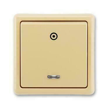 ABB 3553-91289 D2 Classic Ovládač zapínací, se signalizační doutnavkou, řazení 1/0S