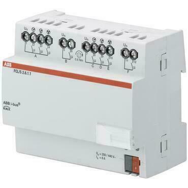 ABB 2CDG110164R0011 KNX Řadový akční člen pro řízení ventilace, 2násobný