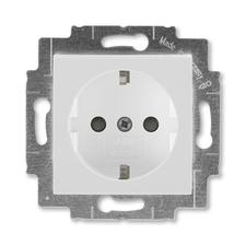 ABB 5520H-A03457 16 Jiné systémy zásuvek Zásuvka jednonásobná s ochrannými kontakty (podle DIN), s c