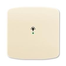 ABB 6220A-A01001 C free@home Kryt 1násobný, symbol osvětlení