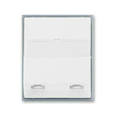 ABB 5013E-A00215 04 Element Kryt zásuvky telefonní, dvojnásobné (pro přístroj 5013U)