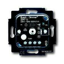 ABB 2CKA006512A0057 Přístroje Přístroj stmívače pro tlačítkové spínání a otočné ovládání (typ 2247 U