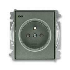 ABB 5589E-A02357 34 Time Zásuvka s přepěťovou ochranou, s akustickou signalizací poruchy