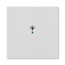 ABB 6220H-A01001 16 free@home Kryt 1násobný, symbol osvětlení