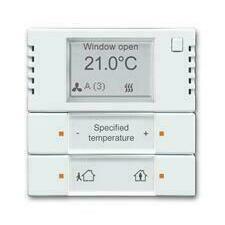ABB 2CKA006134A0334 KNX Snímač teploty s regulátorem a ovl. prvkem 2- / 4násobným