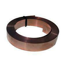 MOREK MME010CU01 Zemnicí Cu páska 0.3x15 mm (10m)