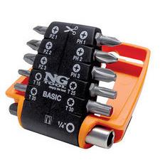 NG NS 14812000  Sada bitů BitClip kombinovaná sada - 11-dílů