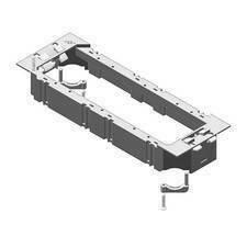 HLS HL TSBU Vanička přístrojová, pro NEO box, univerzální, RAL 9011, PVC