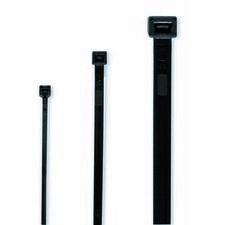 CIMCO 181861 Vázací páska černá UV 100 x 2,5 mm (100 ks)