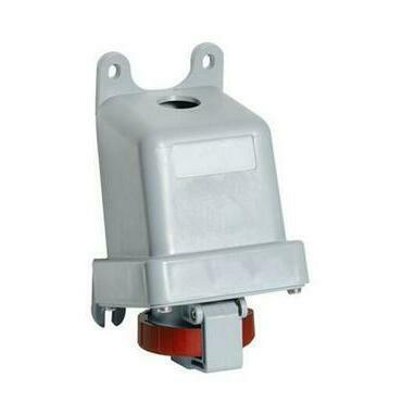 ABB 2CMA167189R1000 Průmyslové vidlice a z. Zásuvka nástěnná, 5p., 32 A, IP67, 6 h