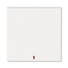ABB 3559H-A00655 68 Kryt spínače kolébkového s červeným průzorem Levit