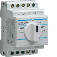 HAG SK602 Voltmetrový přepínač 7 poloh, 10A,400V