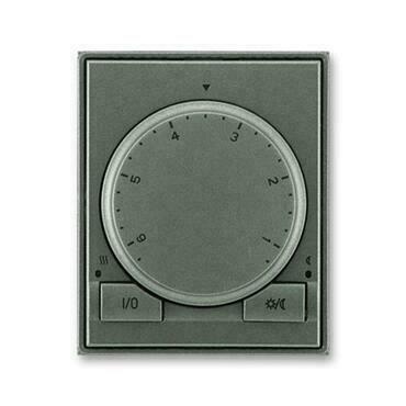 ABB 3292E-A10101 34 Time Termostat univerzální s otočným nastavením teploty (ovl. jednotka)