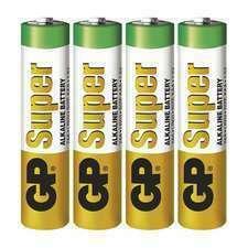EMOS B1311 GP alkalická baterie SUPER AAA (LR03) 4BL