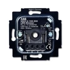 KA006512A0335 Přístroj stmívače LED, pro otočné ovládání a tlač. spínání (pro řadu Impuls) Přístroje