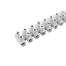 EL 1000103 Svorkovnice instalační EKL 0 S, 12x1÷4mm2, T80, PP, bílá, povrch. uprav. ocel /88168193