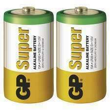 EMOS B1341 GP alkalická baterie SUPER D (LR20) 2BL