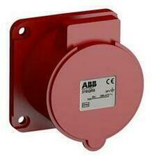 ABB 2CMA102308R1000 Průmyslové vidlice a z. Zásuvka vestavná bezšroubová 16A - 4p., IP44, 6 h