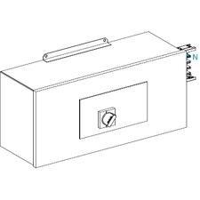 SCHN KSA400ABGD4 Koncová napájecí skříň 400 A levá s jištěním RP 24,97kč/ks