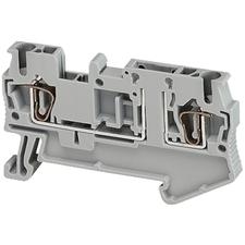 SCHN NSYTRR22TB Pružinová svorka rozpojovací, 2 body 4mm2 šedá (obj. mn. 50ks) RP 0,01kč/ks