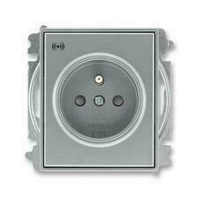 ABB 5589E-A02357 36 Time Zásuvka s přepěťovou ochranou, s akustickou signalizací poruchy