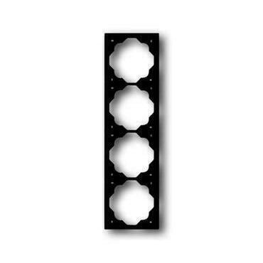 ABB 2CKA001754A4427 Impuls Rámeček čtyřnásobný, pro vodorovnou i svislou montáž