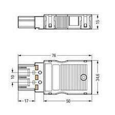 WAGO 770-113/147-000 Můstkový konektor