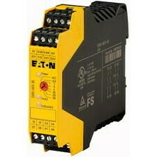 EATON 118705 ESR5-NV3-30 Elektronické bezpečnostní relé, 24V DC, 3 zap. kont., dvoukanálové zpožděné
