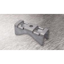 wpr8380 PTA-BR-1Z držák na sloup BRIDGE pro pásy do š. 16 mm, pro 1 šroub, hloubka: 30 mm, otvor: 1x
